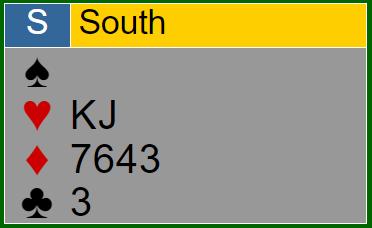 Restkarten Süd