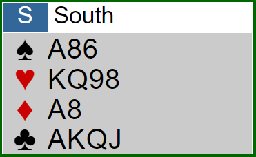Stärkste Eröffnung - Verteilung Süd