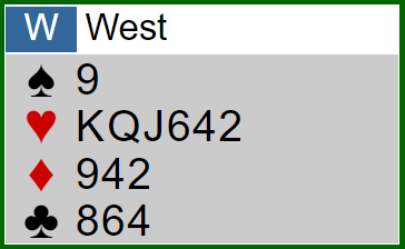 Verteilung West - Reizung stören